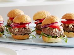 Get Sliders Recipe from Food Network