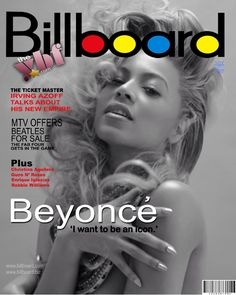 Beyonce on The Cover Of Billboard Magazine