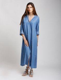 """Résultat de recherche d'images pour """"robe caftan jean"""""""