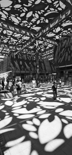 Architecture pattern | shadows and silhouettes | surface textile pattern design