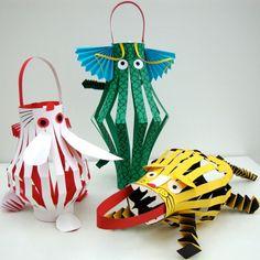 Make Chinese New Year animal lanterns at museum