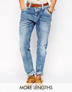 Pepe Jeans | Pepe Jeans Idoler Boyfriend Jeans at ASOS