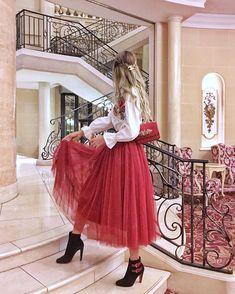 5,891 отметок «Нравится», 246 комментариев — 💜💗 Lily 💗💜 (@purplepinkp) в Instagram: «Double Loubies👠👜❤️ and my favorite skirt from @twinkledeals_official Shop the same one here☺️…»