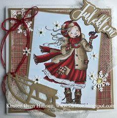 Kirstens Hobbyblogg: Enda en julehilsen...
