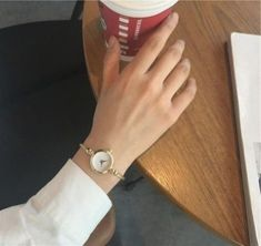 Minimalist simple womens small watches in silver and gold - simple small watches cute women's small -.