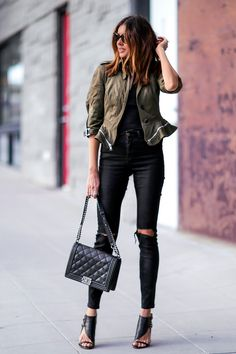 Statement Jacket: Edgy meets Feminine FashionedChic waysify