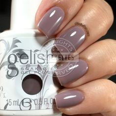 My color this week: I or-chid you not by Gelish (189)
