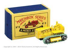 Matchbox Regular Wheels No.8B Caterpillar Tractor | Vectis Toy Auctions
