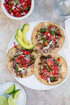 Carne Asada Tacos | Cooking Classy~T~Love the marinade for this.