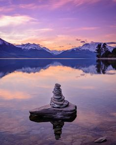 Kern moutains reflections and perfect sunset over lake Wakatipu... Does it get better that that?