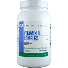 Universal Vitamin B Complex 100 ct | Regular Price: $13.50, Sale Price: $9.99 | OvernightSupplements.com | #onSale #supplements #specials #Universal #VitaminsandMinerals  | B vitamins play a critical role in producing energy metabolizing carbohydrates and regulating blood sugar among other activities Vitamin B Complex contains 8 required vitamins plus two co factors These statements have not been evaluated by the FDA This product is not intended to diagnose treat cure or prev