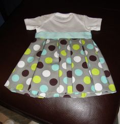 DIY baby girl onsie too cute
