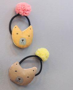 Cat hair clips
