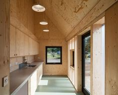 Wolfson Tree Management Centre Mess Building / Invisible Studio