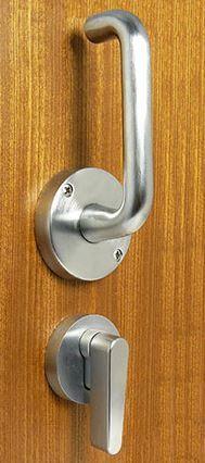 Cavilock ADA LaviLock Pocket Door Handle Master Bathroom - Ada bathroom door handle