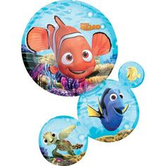 Finding Dory and Nemo Ultimate 10 pc Birthday Party Balloon Decorating Kit Anagram