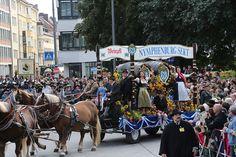 Einzug der Wiesnwirte 2013 #Oktoberfest 2013