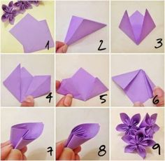 New origami Flower Drawing . How to Fold A Paper Rose with Wikihow – Origami Flower Drawing . New origami Flower Drawing . How to Fold A Paper Rose with Wikihow Diy Origami, Design Origami, Origami Ball, Origami Butterfly, Origami Flower Bouquet, Origami Paper Art, Best Origami, Paper Bouquet Diy, Origami Rose
