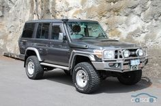 76 series with silver ARB Bar