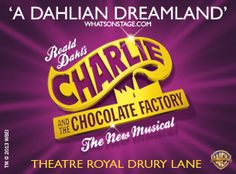 We went to the musical, Charlie and the Chocolate Factory, Thursday 12th of November.