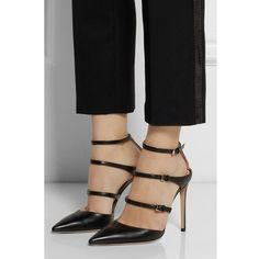 Trio Strap Pointed Toe Heels | my mum made it