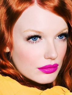 7 #Little Known #Makeup Tips for #Redheads ... → Makeup #Haired