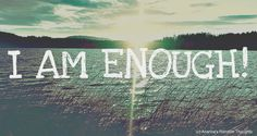 """Elk Lake, Victoria, British Columbia  Start each morning by teling yourself """" I AM ENOUGH"""""""