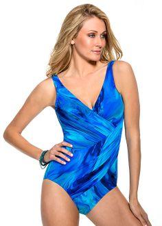 c40671addf Miraclesuit Free Flow Oceanus Swimsuit (470388) - Free Shipping At  UK  Beachwear Flattering