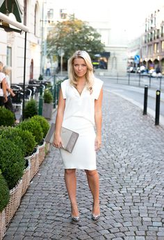 ALL WHITE : P.S. I love fashion by Linda Juhola