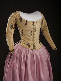 Jacket, 1780′s From Historic Deerfield Museum