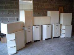 Craigslist Vintage Metal Cabinets   No Pattern Required   metal ...