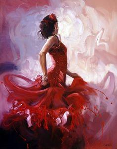 Mark Spain - Red Rose I