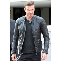 Stylish David Beckham Leather Jacket!  Famous Celebrity David Beckham looked dapper ever in the leather jacket when he was jets back from Brazil airport, which is now available at Desert Leather.  ► Price: $199.00  ► You Save:$30.00 ► Worldwide Free Shipping  ► Free Gifts Included  ► Easy 30 Days Return Policy  ► Money Back Guarantee  Visit: www.desertleather.com/David-Beckham-Back-From-Brazil-Jacket