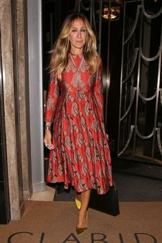 Look back at Sarah Jessica Parker's fashion evolution