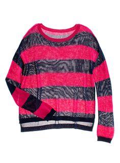 pink blue stripe