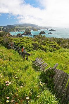 Mendocino County, California-spent the night here with Jason on one of many road trips when we lived in Cali.