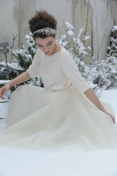 mariée, bride, mariage, wedding, robe mariée, wedding dress, white, blanc, Meryl Suissa