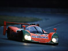 1991 Winner of Le Mans Mazda 787B - 4 Rotor Naturally Aspirated Engine