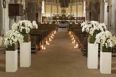 Orchids Wedding ceremony ideas..