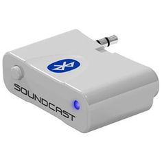 SOUNDCAST BLUECAST WIRELESS AUDIO TRANSMITTER AND CHARGING DOCK