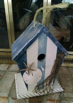 Nautical birdhouse                                                                                                                                                                                 More