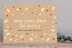 Kraft & Berry by Moglea at minted.com