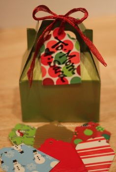 Reusable gift tags - made with Duck tape! I think I might try the same idea to make labels for my displays at craft shows and farmers markets.  That way you can just erase and use again!
