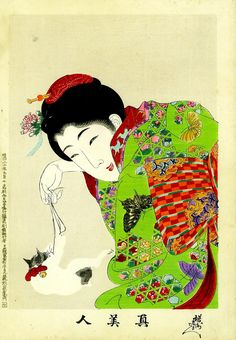 What great colors! http://www.ryo-ohki.com/jbobart/gallery/index.html #japanese #art