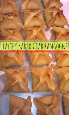 Healthy Baked Crab Rangoons! – Simply Taralynn