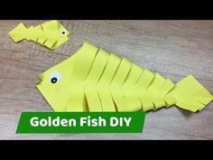 Easy DIY for kids - Golden Fish - YouTube