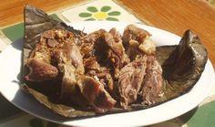 """10 Imperdibles de la cocina hidalguense Barbacoa Famosa en la región del Valle y los llanos es desde luego la """"barbacoa"""" de carnero o de pollo, que se coce en horno cavados en la tierra, sin olvidar el tasajo y la cecina de la Huasteca y la Sierra"""