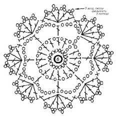 New crochet cat bag pattern yarns ideas Motif Mandala Crochet, Crochet Snowflake Pattern, Crochet Flower Tutorial, Crochet Stars, Crochet Motifs, Crochet Snowflakes, Crochet Diagram, Crochet Stitches Patterns, Doily Patterns