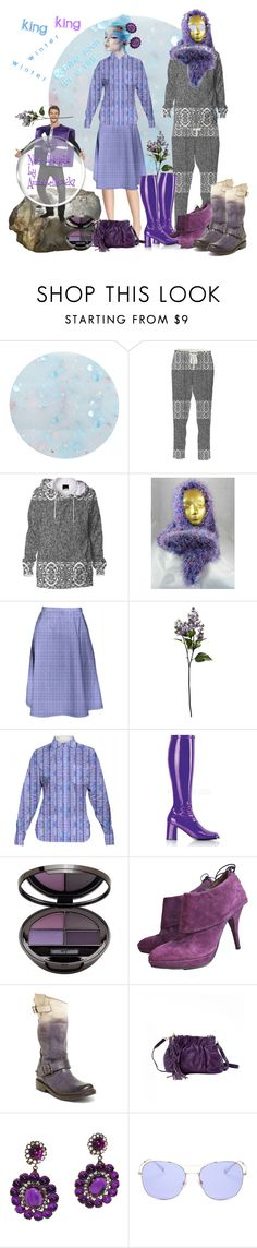 """King winter is coming for a visit."" by annabelle-h-ringen-nymo ❤ liked on Polyvore featuring Deborah Lippmann, Sur La Table, Funtasma, Latitude Femme, Steve Madden, Kenneth Jay Lane, Gucci and annabellerockz"