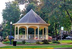 The pretty gazebo on the square--Newark, Ohio.Scott n I got married here Newark Ohio, Roots, Gazebo, Peace, Outdoor Structures, Pretty, Kiosk, Deck Gazebo, World